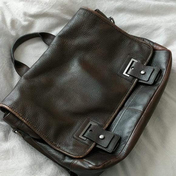 Banana Republic Other - Brand New Banana Republic Leather messenger bag 5f4d5b47f8